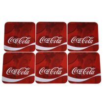 Porta-copos-cortica-Coca-Cola-wave-com-6-pecas