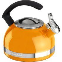 Chaleira-com-apito-mandarin-Kitchenaid-laranja-19-litros