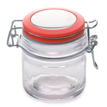 Pote-hermetico-de-vidro-Maxwell---Williams-vermelho-100-ml