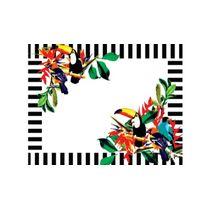 Jogo-americano-de-papel-com-24-pecas-abacaxi-verde-e-tucanos