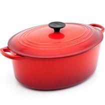 Panela-de-ferro-oval-Le-Creuset-vermelha-31-cm