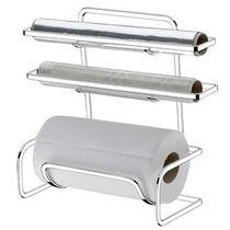 Porta-papel-toalha-triplo-cromado-Future-