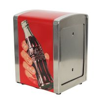 Porta-guardanapo-de-metal-Take-a-Coke-Coca-Cola-