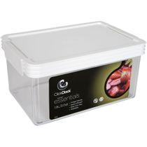 Pote-de-acrilico-retangular-Essential-Click-Clack-19-litros-branco