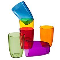 Copo-de-plastico-Retro-Coza-color-com-6-unidades-275-ml