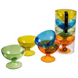 Taca-para-sobremesa-plastica-Retro-Coza-color-com-4-unidades