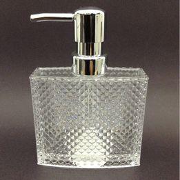 Porta-sabonete-liquido-de-acrilico-Diamond-200-ml
