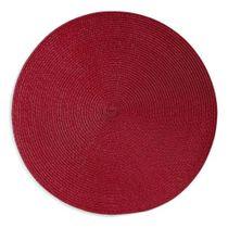 Jogo-americano-redondo-de-fibra-sintetica-Luna-Copa-vermelho-38-cm
