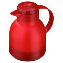 Garrafa-termica-Quick-press-Emsa-vermelha-1-litro