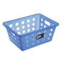 Cesta-organizadora-plastica-Coza-azul-18-x-14-x-7-cm
