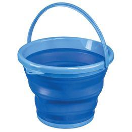 Balde-flexivel-de-silicone-Sanremo-10-litros-azul-