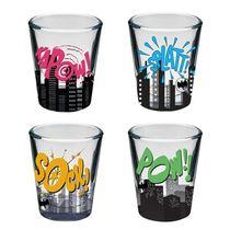 Copo-de-vidro-DC-Onomatopeia-50-ml-com-4-unidades-