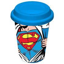 Copo-de-ceramica-com-tampa-de-silicone-Superman-300-ml-