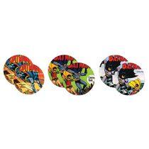 Porta-copos-de-cortica-Batman-DC-com-6-unidades
