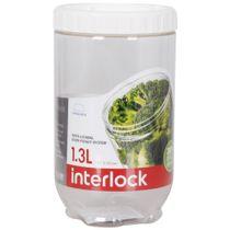 Pote-plastico-empilhavel-Lock---Lock-incolor-13-litros-