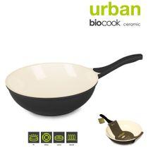 Wok-com-revestimento-ceramico-Biocook-preta-28cm