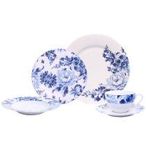Aparelho-de-jantar-de-porcelana-Rapsody-com-30-pecas-azul-e-branco