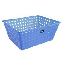 Cesta-organizadora-de-plastico-Coza-azul-38-x-29-x-16-cm