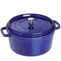 Cacarola-de-ferro-redonda-Staub-azul-marinho-26-cm-