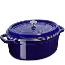 Cacarola-de-ferro-oval-Staub-azul-marinho-29-cm