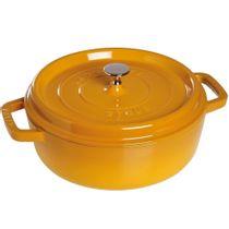 Cacarola-de-ferro-para-risoto-Staub-mostarda-26-cm-