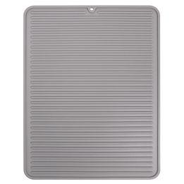Bandeja-de-silicone-para-pia-Lineo-InterDesign-cinza-32-x-41-cm