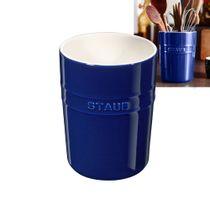 Porta-utensilios-de-ceramica-Staub-azul-marinho-11-cm---18373