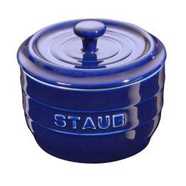 Porta-condimento-ceramica-Staub-azul-marinho-10-cm---18371