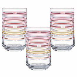 Copo-de-vidro-Motion-vermelho-com-3-pecas-290-ml---20622