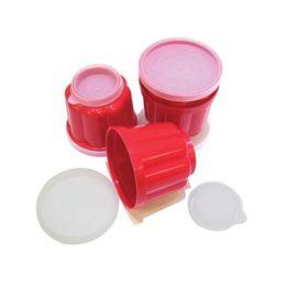 Pote-de-plastico-para-gelatina-Fackelmann-vermelho-4-pecas---21165