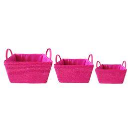 Cesta-de-palha-de-trigo-pink-3-pecas---21344