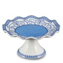 Prato-de-bolo-de-porcelana-Guirlanda-Carole-branco-16-cm---21519