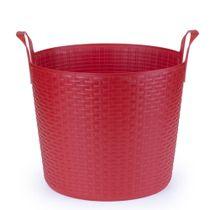 Cesta-flexivel-de-silicone-Bamboo-Arthi-vermelha-24-litros---21355