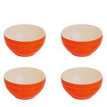 Conjunto-de-bowls-de-ceramica-Staub-laranja-400-ml-com-4-pecas---16239