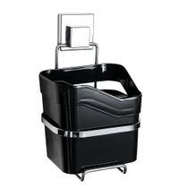 Porta-utensilios-de-plastico-com-suporte-cromado-e-ventosa-Ou-preto-185-x-13-cm---22031