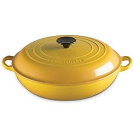 Cacarola-de-ferro-buffet-Le-Creuset-amarelo-dijon-30-cm---22499