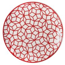 Prato-de-sobremesa-de-porcelana-L-Hermitage-vermelho-19-cm---22532