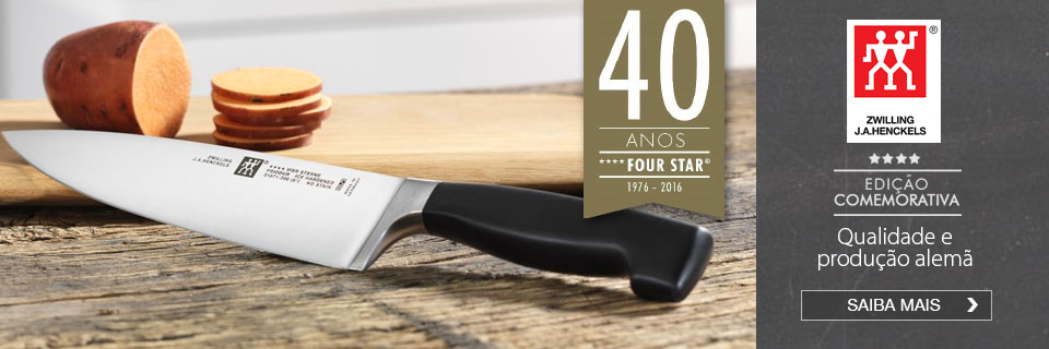 Faca do chef Four Star Zwilling