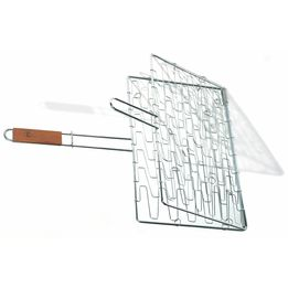 Grelha-flexivel-de-aco-inox-com-cabo-de-madeira-Fox-Run-41-x-28-cm---19902