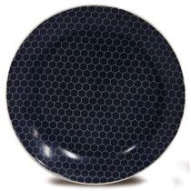 Prato-de-sobremesa-de-ceramica-Hexagon-Corona-azul-20-cm---23277