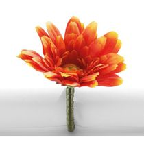 Argola-para-guardanapo-de-acrilico-Primavera-Gerbera-laranja---23390