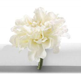 Argola-para-guardanapo-de-acrilico-Primavera-Cravo-branco---23394