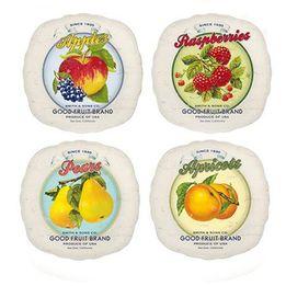 Prato-de-sobremesa-de-porcelana-Retro-Fruit-4-pecas-19-cm---23461