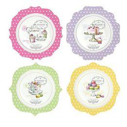 Prato-de-sobremesa-de-porcelana-Gourmandise-4-pecas-19-cm---23466
