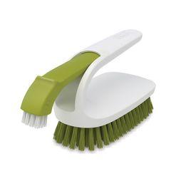 Escova-para-limpeza-multiuso-Joseph---Joseph-verde-e-branco-13-x-8-cm---13503
