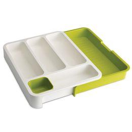 Organizador-de-plastico-para-talheres-expansivo-Joseph---Joseph-verde-e-branco-36-x-29-cm---15391
