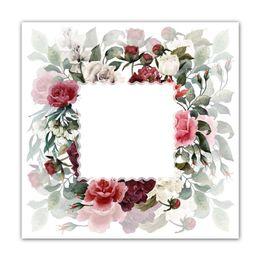Guardanapo-de-algodao-Guirlanda-Flower-vermelho-4-pecas-50-x-50-cm---23776