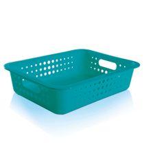 Cesta-organizadora-de-plastico-Ou-azul-turquesa-41-x-31-x-10-cm---23796