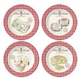 -Prato-de-sobremesa-de-porcelana-Maire-Fromage-4-pecas-19-cm---23462