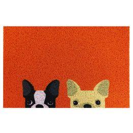 Tapete-de-vinil-Bulldogs-Kapazi-laranja-60-x-40-cm---24188